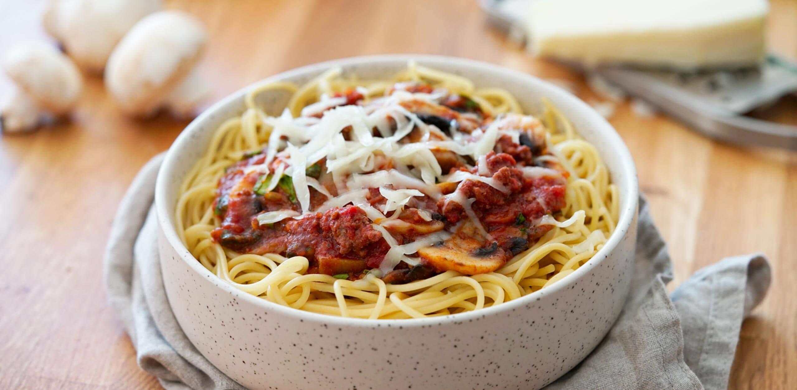 Spaghetti Bolognaise à la Française